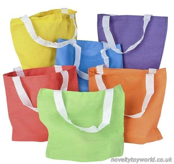 dd37ad9691 Bulk Buy | Coloured Tote Bags - Wholesale Event Supplies (20cm)