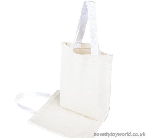 Bulk Buy Off White Natural Canvas Tote Bags Simple