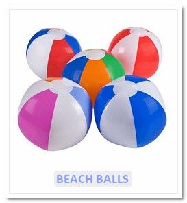 Inflatable Beach Balls - Novelty Toy World UK