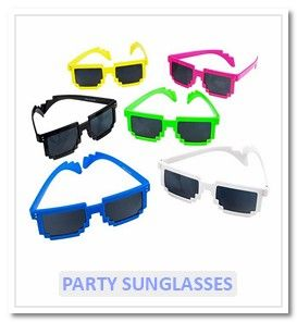 Party Sunglasses - Novelty Toy World UK
