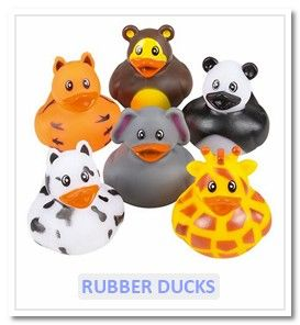 Rubber Ducks - Novelty Toy World UK
